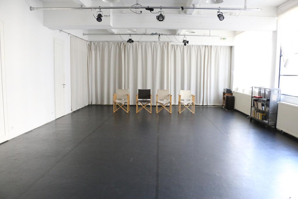 Salle Laura Benson - vue de scène